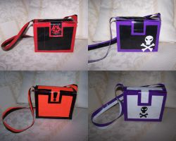 even more duct tape purses by WeirdBugLady