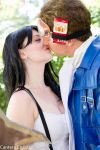 Cid and Tifa...Kissing? by FunnyFayeValentine