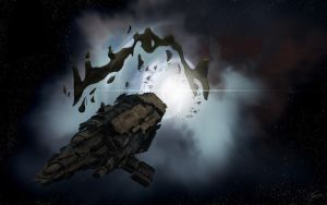 Hel Mothership, Eve online by Phil-Monk