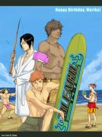 Beach Bleach Boys to Mari Maus by Irukachan