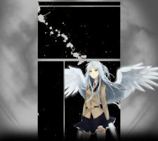 Angel Beats Youtube Background by Saranex3
