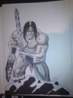 By Crom by ChrisSummersArts