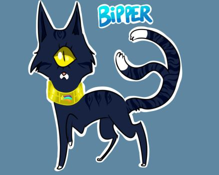 Bipper Kitty by Kneel4Loki13