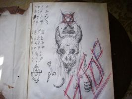 Naturom Demonto/the book of the dead 2013 by melted7