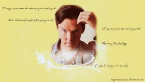 Benedict Cumberbatch 24 by HappinessIsMusic