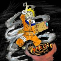 calab-Naruto shadow repli by Mrknownothing