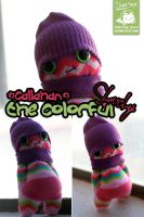 Callahan the Colorful Slouchy by cleody