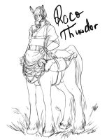 Roco Thunder - lines by WolfsNeverDie