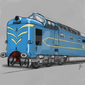 BR Deltic Prototype DP1 by NSL714