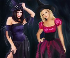 Witches by MartaDeWinter