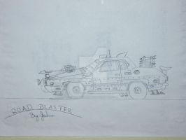 Road Blaster! by UNDEADWARRIOR7411