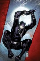 SnakeEyes 3 Cover B by spidermanfan2099