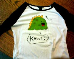 My dinosaur t-shirt by chioo