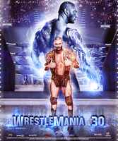 WrestleMania 30 ~ Poster by MhMd-Batista