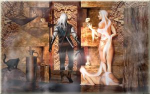 The Witcher by K-raven