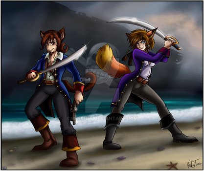 Pirates of Awesome by Senshee