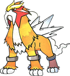 Entei by Skylight1989