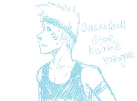 Kisame - Highschool Basketball Star by xsasoxdeix