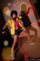 Sam Cosplays Jubilee at ACen 2014 by N1k0nSh00ter