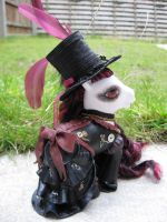 Scarlett, a steampunk custom by assassin-kitty