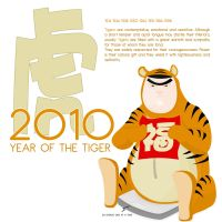 Year of the Tiger 2010 by unclegg