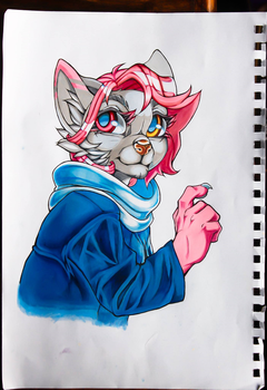 Traditional art- Daniel by MrChibbe