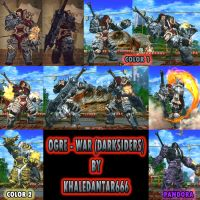 OGRE - WAR (DARKSIDERS) by Khaledantar666