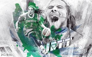 Jordair Jett Townsville Crocodiles Wallpaper by skythlee