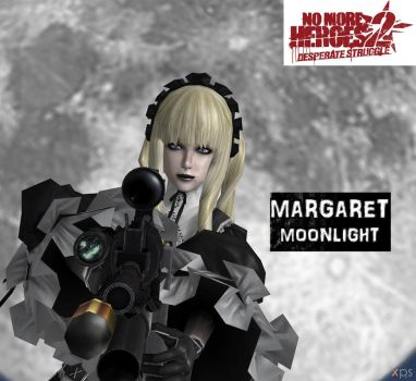 Margaret Moonlight from no more heroes 2 by Yakuzalover
