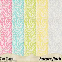 I'm Yours Damask by harperfinch