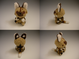 African Wild Dog Plush by WhittyKitty