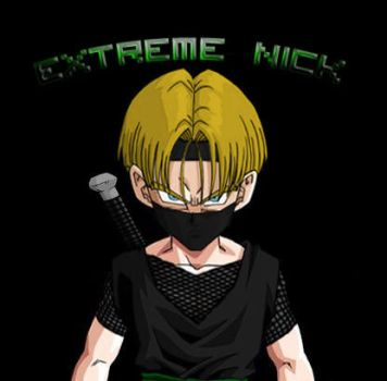 Me on Dragon Ball AF by ExtremeNick