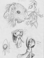 Seer Sketches 3 by LittleMads