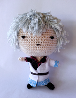Sakata Gintoki amigurumi by nevR-sleep