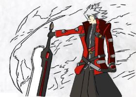 Ragna the Bloodedge by kingfret