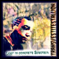 Design for Lost in Concrete SubUrbia ART tune by MushroomBrain