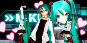 Normal Miku Dt by GrayFullbuster21