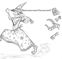 Discworld - Rincewind by holepunch