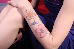 Left Arm Tattoo (Top) by CharlotteSilver