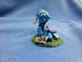My Litle Pony FiM custom sculpt: Sad Trixie! by vulpinedesigns