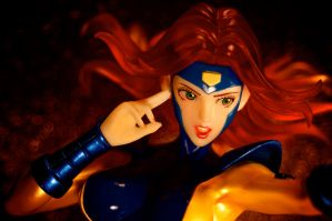 Jean Grey in Mind Control! by gardawamtu
