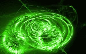 Green Abstract WP by FireOfTheFox