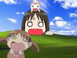 Osaka is displeased by mizu-chan-lives
