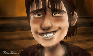 Hiccup and the Soup Bowl 11 by masterrohan