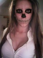 Skeleton face by antaale