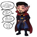 D is for Dr Strange by Josh-Ulrich