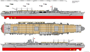 Shokaku-class Aircraft Carrier (1941) by ijnfleetadmiral