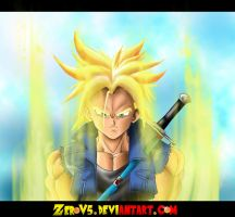 Super Saiyan Trunks by ZeroV5