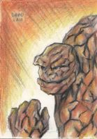 Thing Sketch Card by DavidLau82