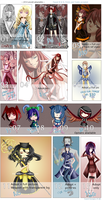 OPEN 8/13 | Adopts + Extras 2014 by KaeniA